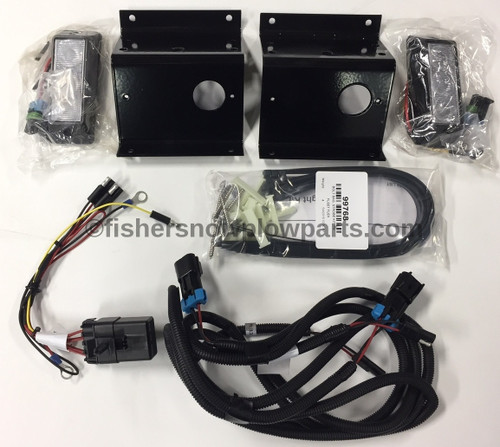 99766 FISHER POLYCASTER - WESTERN TORNADO STROBE KIT, PH-FLEET FLEX  NOTE: BUMPER PLUG IN MUST HAVE 8 PINS
