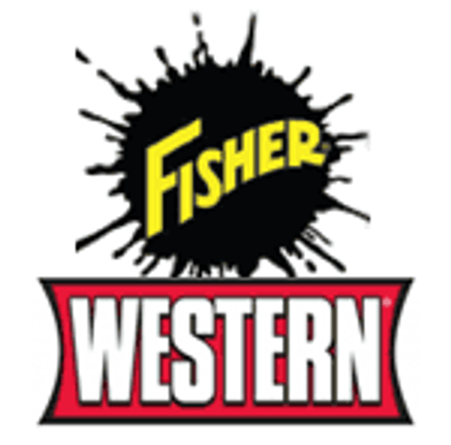 """49664 - """"FISHER - WESTERN VEHICLE SIDE STRAIGHT BLADE  3-PLUG COMMON ELECTRICAL"""