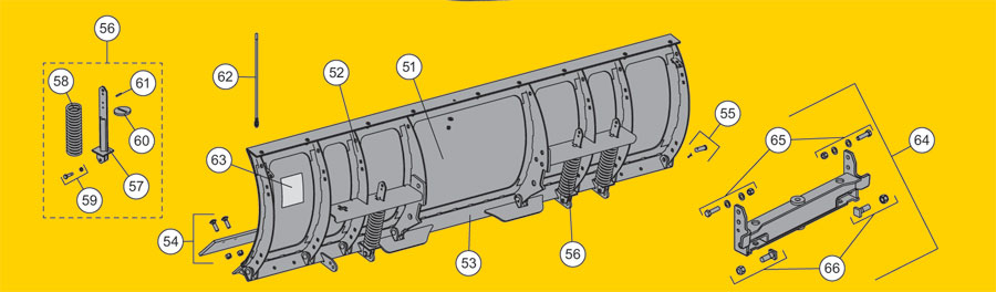 Fisher Hdx Snow Plow Blade Parts Diagram