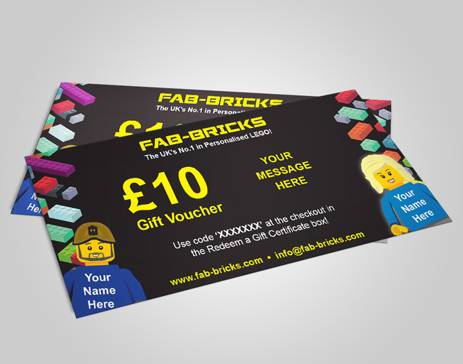 £10 Gift Voucher from FAB-BRICKS