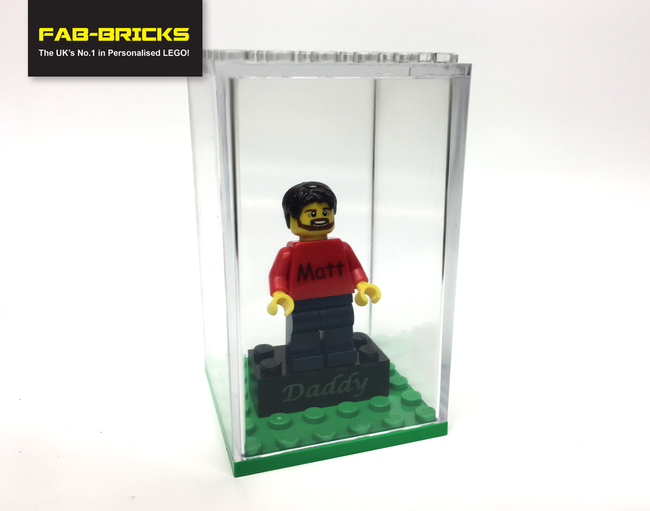 Minifigure Display Case - Large - Shipping Included!