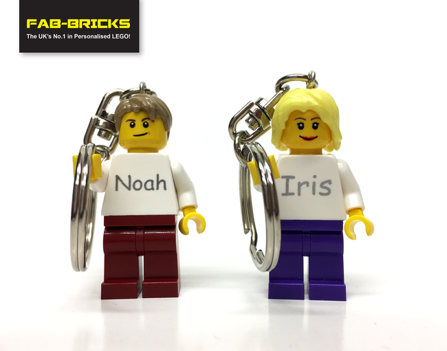 Make your Minifig a Keyring!