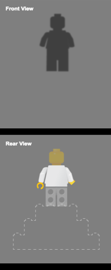 Custom Minfig 1530624236 with large display case