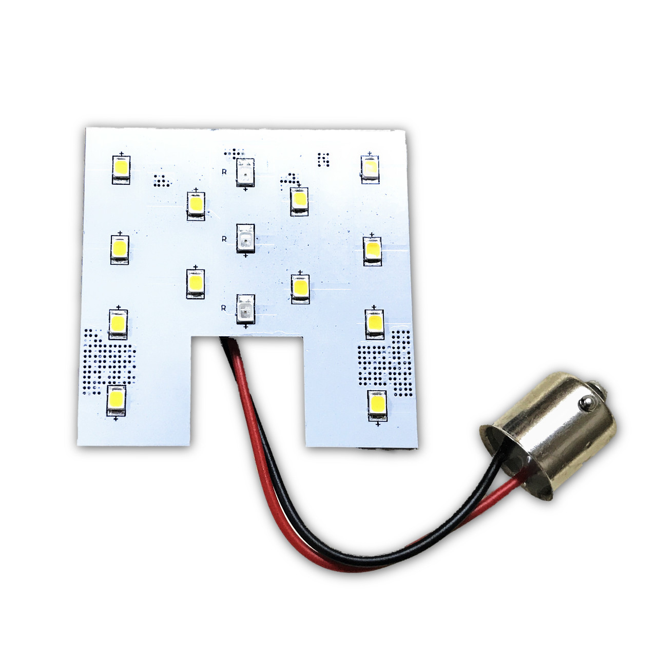 Red White Switchable Led For Dome Lights About 12v 36 Circuit Board Rv Boat Light Bulb Ba9s New Example Bayonet Base