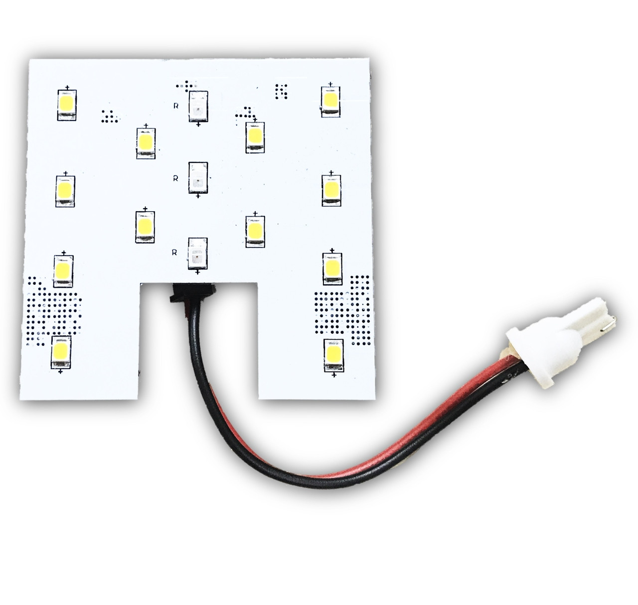 Red White Switchable Led For Dome Lights About 12v 36 Circuit Board Rv Boat Light Bulb Ba9s New Example Wedge Base On Sale
