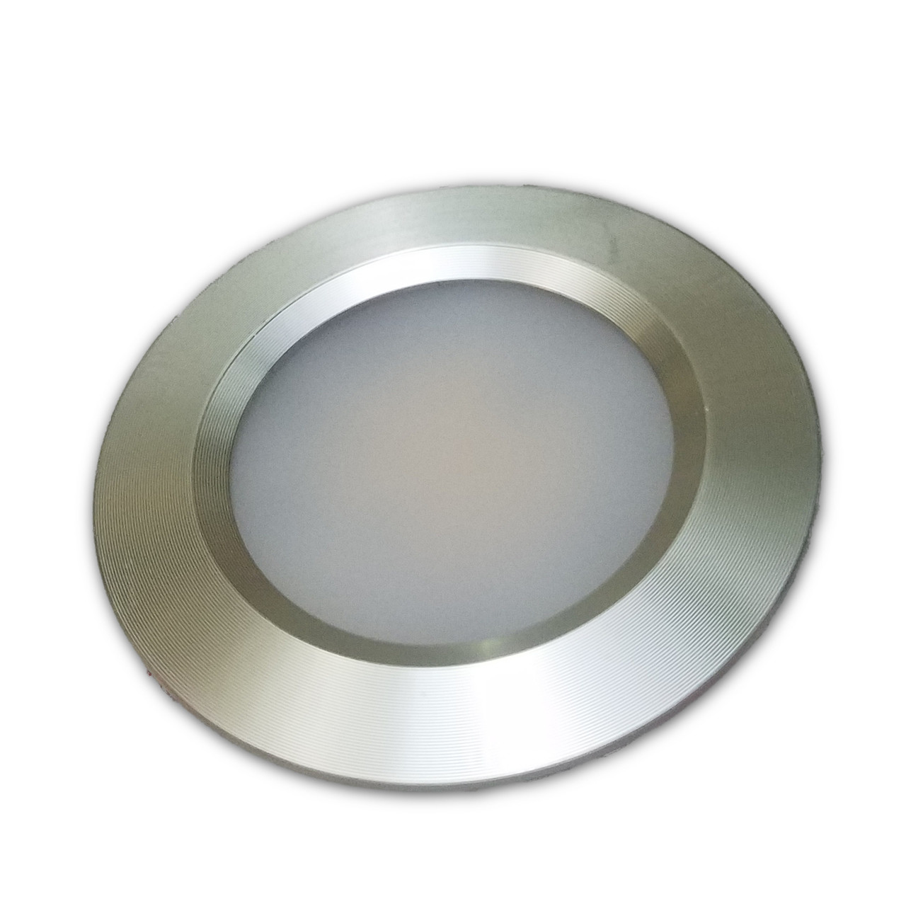 25w 18 led recessed ceiling light for boats 12v or 24v recessed ceiling light fixture silver bezel 12v24v led down light aloadofball Image collections