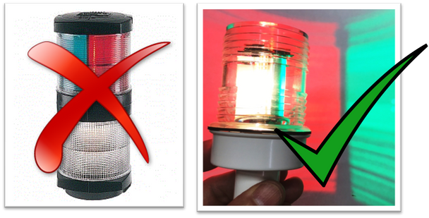Smart LED Tri-Color, Anchor Light, and Strobe (N3-TRI-CMB)