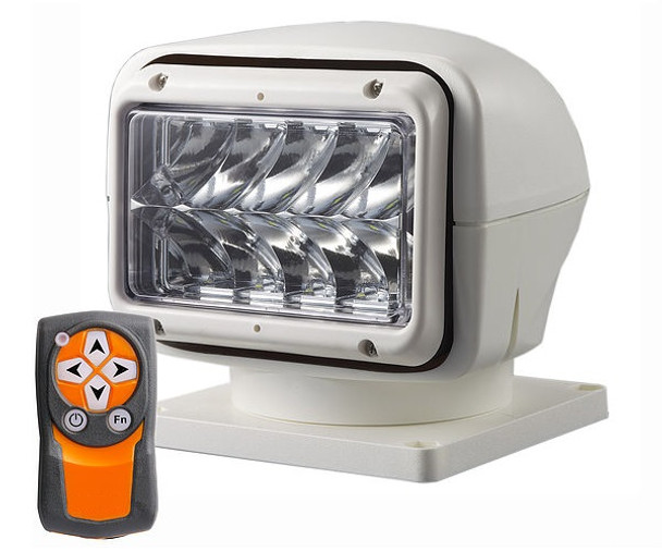 50W 360 degree LED Searchlight with remote