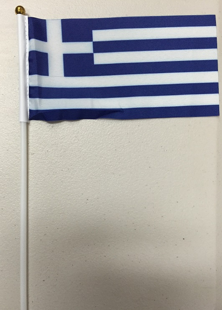 Small sized material flag