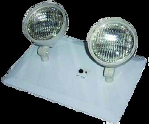 Recessed twin head emergency lighting supply outlet recessed twin head emergency aloadofball Choice Image