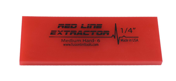 "5"" Red Line Extractor 1/4"" - No Bevel Blade"