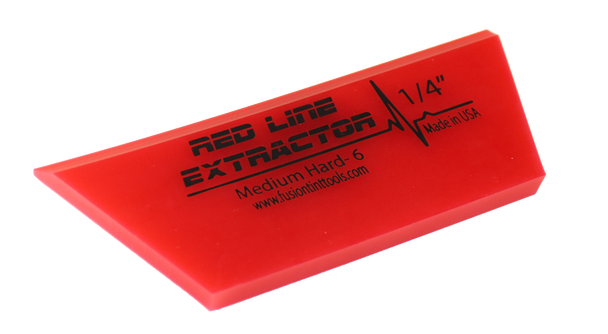 """5"""" Red Line Extractor 1/4"""" - Single Bevel Blade Cropped"""