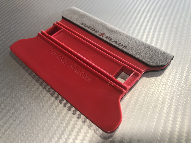 ProToolsNow Suede Blade - Red