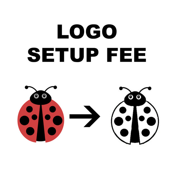 Logo setup fee