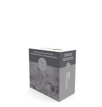 2016 $20 FINE SILVER COIN - SECOND WORLD WAR: BATTLEFRONT SERIES - THE BATTLE OF HONG KONG