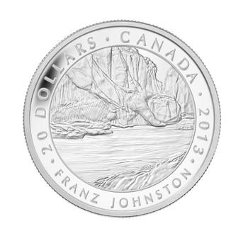 2013 $20 FINE SILVER COIN GROUP OF SEVEN - FRANZ JOHNSTON