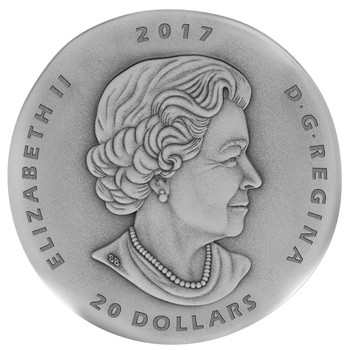 2017 $20 FINE SILVER COIN ANCIENT CANADA: OGYGOPSIS