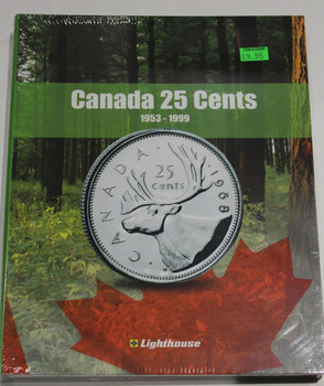 VISTA COIN BOOK CANADA 25 CENTS (QUARTERS)  - VOL 2 - 1953-1999