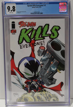 SPAWN KILLS EVERYONE #1 AUG 2016  CGC 9.8