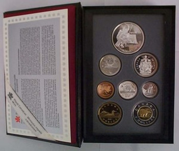 1997 PROOF DOUBLE DOLLAR SET - 1972 CANADA/RUSSIA HOCKEY SUMMIT