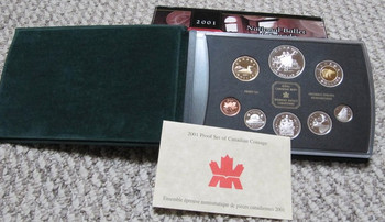 2001 PROOF DOUBLE DOLLAR SET - NATIONAL BALLET OF CANADA