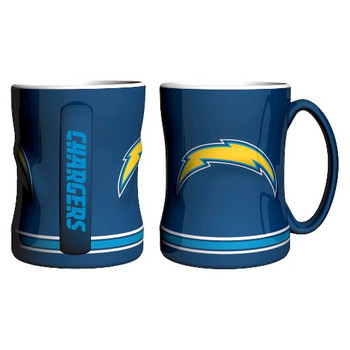 SAN DIEGO CHARGERS NFL RELIEF MUG