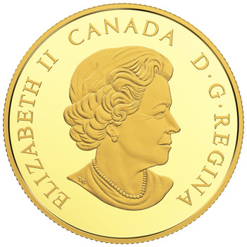 2018 $200 PURE GOLD COIN CANADIAN COASTAL SYMBOLS: THE PACIFIC