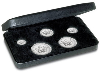 2004 SILVER MAPLE LEAF PRIVY MARK SET