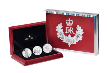 SALE - 2012 3-COIN FINE SILVER SET - QUEEN'S DIAMOND JUBILEE