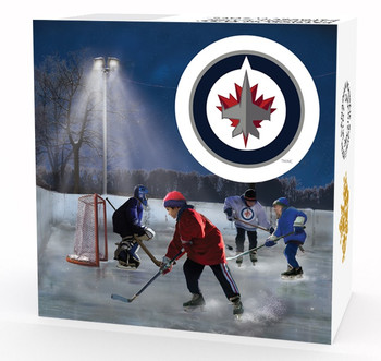 SALE - 2017 $10 FINE SILVER COIN PASSION TO PLAY: WINNIPEG JETS®