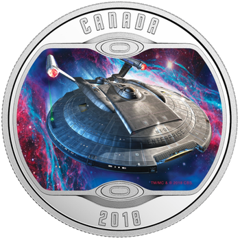 2018 $10 FINE SILVER STAR TREK™: ENTERPRISE NX-01