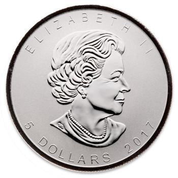 1oz. 2017 CANADIAN 150 PRIVY MARK SILVER MAPLE LEAF COIN