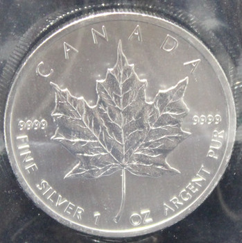 1oz. 2013 CANADIAN SILVER MAPLE LEAF COIN
