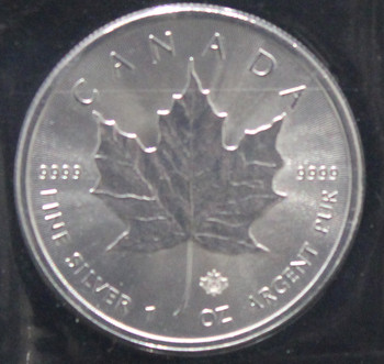1oz. 2014 CANADIAN SILVER MAPLE LEAF COIN