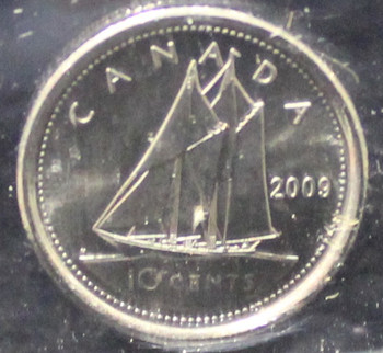 2009 CANADIAN 10-CENT ICCS MS-66