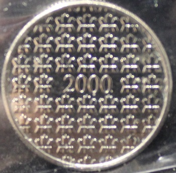2000 CANADIAN MEDALLION ICCS MS-64