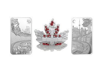 2018 FINE SILVER 3-COIN SET BENEATH THY SHINING SKIES