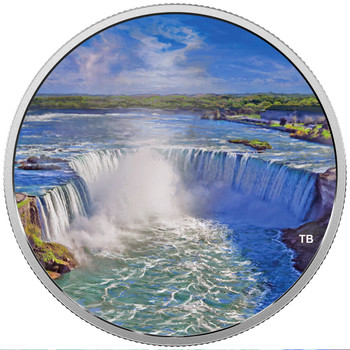 2018 $30 FINE SILVER COIN FIREWORKS AT THE FALLS