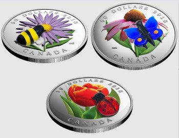 2018 $50 FINE SILVER 3-COIN SET MURANO'S  BEST