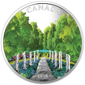2018 $20 FINE SILVER COIN – MAPLE TREE TUNNEL