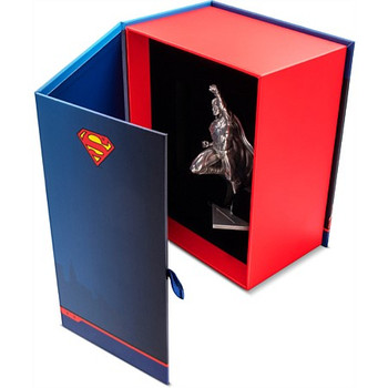 SUPERMAN 80TH ANNIVERSARY  - 150 GRAM FINE SILVER MINIATURE - DC COMICS