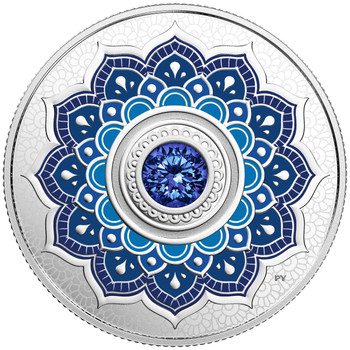 2018 $5 FINE SILVER COIN BIRTHSTONES: SEPTEMBER