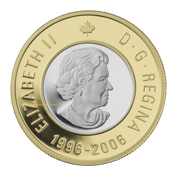 SALE - 2006 10TH ANNIVERSARY $2 GOLD COIN - QUANTITY SOLD: 2,068