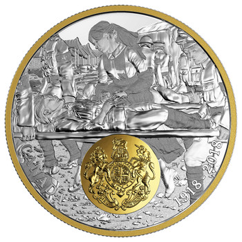 2018 $20 FINE SILVER COIN -FIRST WORLD WAR ALLIED FORCES: GREAT BRITAIN