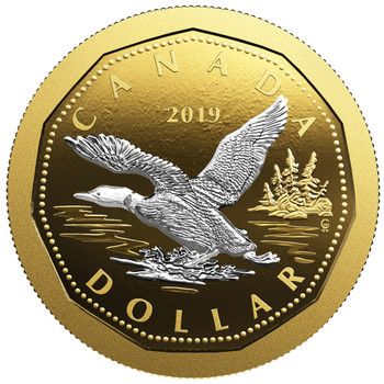 2019 5-OUNCE FINE SILVER COIN BIG COIN SERIES: DOLLAR
