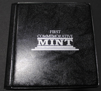 1989 SILVER MAPLE LEAF - .9999 1OZ. PURE SILVER - FIRST COMMEMORATIVE MINT FOLDER