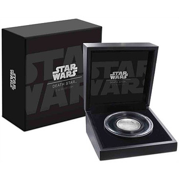 Star Wars – Death Star Ultra High Relief 2 Oz Silver Coin