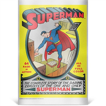 Superman #1 - 35g Pure Silver Foil