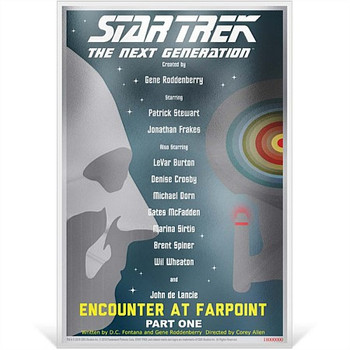 Star Trek: The Next Generation Encounter at Farpoint Pt. 1 - 5g Silver Coin Note