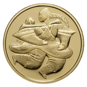 2000 $200 GOLD COIN -  MOTHER AND CHILD